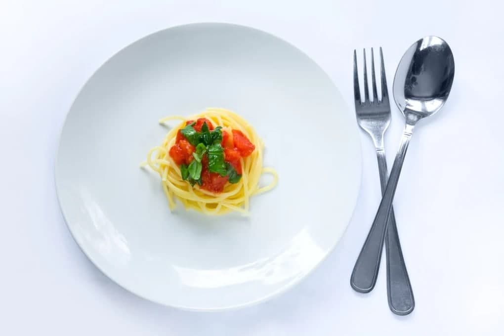 cibo mangia poco